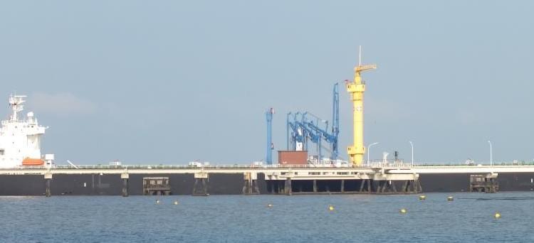 Tanker Seanostrum bei NWO