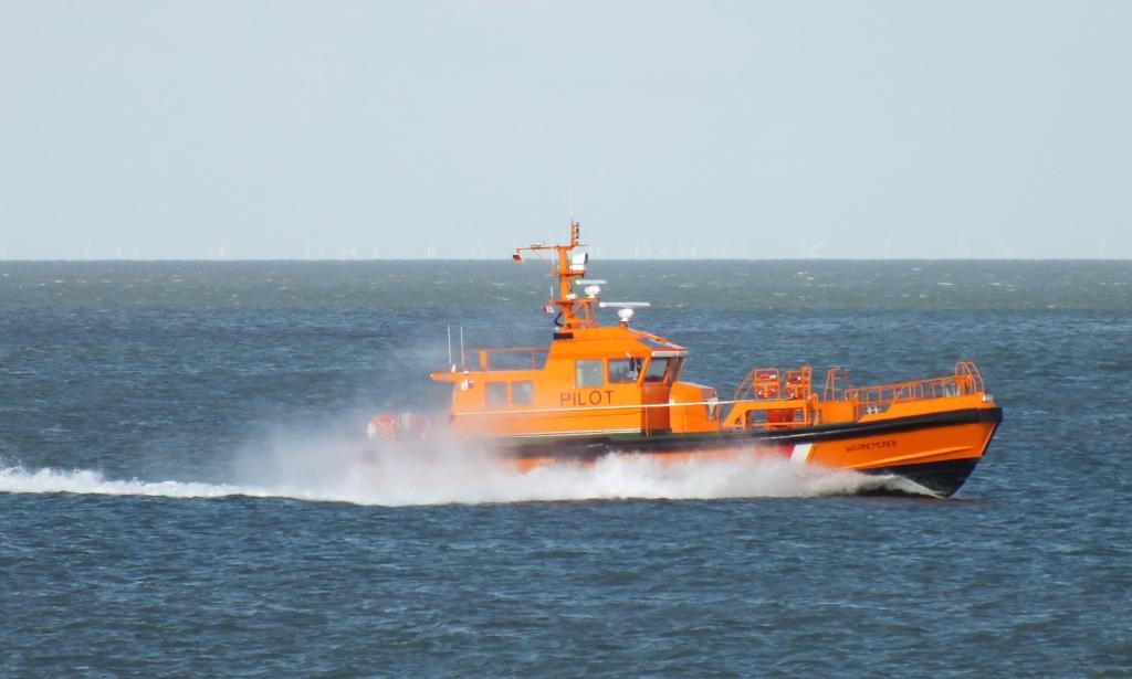 Lotsenboot Warnemünde