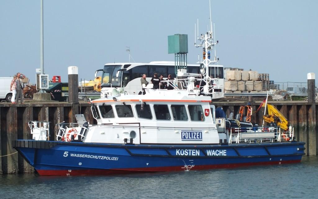 Die Küstenwache in Hooksiel